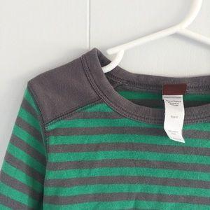 Size 5 Tea Collection boys' striped shirt